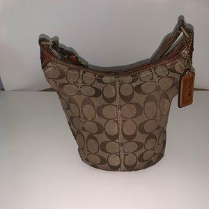 Original Coach bucket handbag